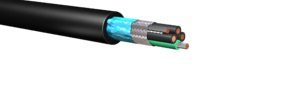 HW190A: 600V/1kV Foil & Braid Shielded Cable, Full Size Ground