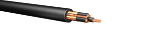HW191B: 600V/1kV Copper Tape Shielded Cable, 3 Symm Grounds