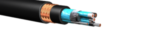 HW281: 600V/1kV Shielded Pairs Power Cable, Armored & Sheathed