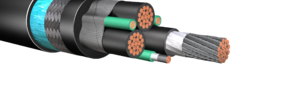 HW287: 2kV Standard VFD Power Cable, Armored & Sheathed