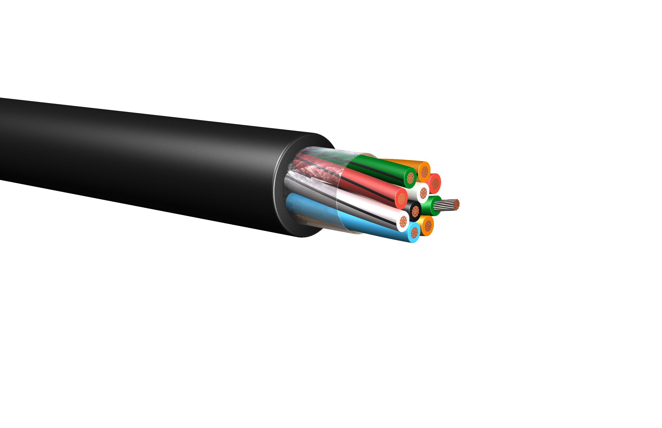 HW276: 600V/1kV Multi-Conductor Conductor Control Cable, Unarmored ...