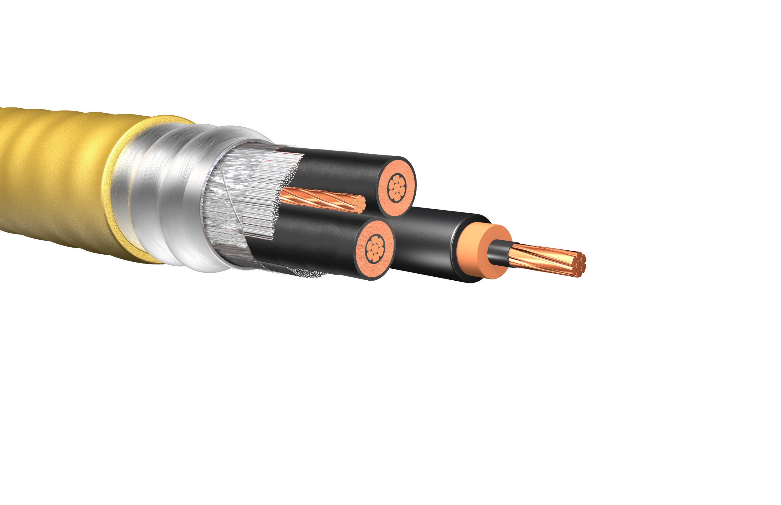 HW309: 2.4kV CCW Non-Shielded Cable, Type MC-HL | Houston Wire ...