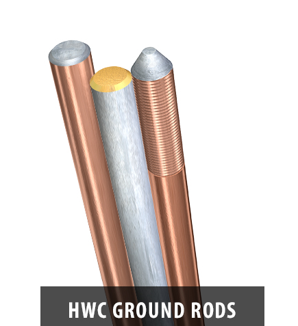HWC ground rods